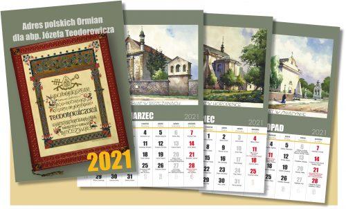 Kalendarz Fundacji Kultury i Dziedzictwa Ormian Polskich na 2021 rok